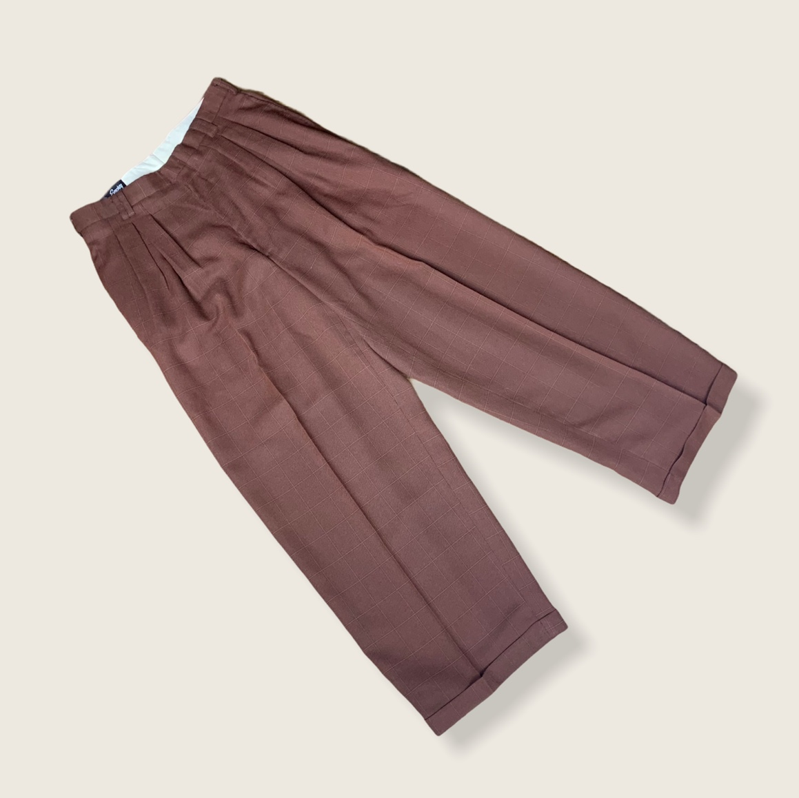 Product Image 1 - smokey joes creased trousers  tag says