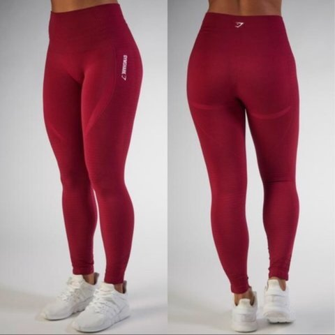 a9a1a84c590e0 @bmanchett. 15 days ago. Cambridge, United Kingdom. Seamless high waisted  gymshark leggings in beet.