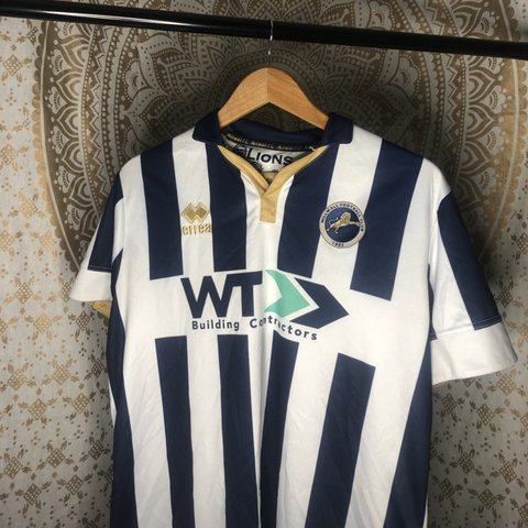 5ac7b4d37 Millwall FC shirt 16/17 season In good condition (stitching - Depop