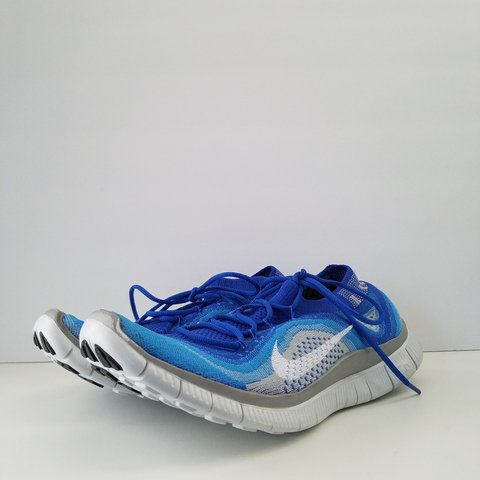 sale retailer a9fe5 d40b3  optic white. 27 days ago. Perris, California, US. NWOB Nike Free Flyknit  5.0 Blue Grey Mens ...
