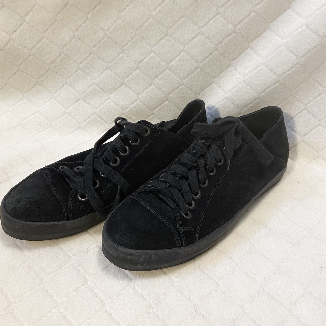 Product Image 1 - Ann Demeulemeester black suede converse