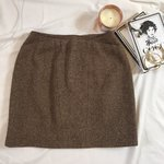 817f0abf57 Authentic #Chanel Boutique camel colored pencil skirt size - Depop