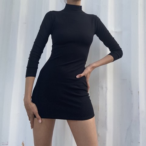 99b336d9 @primroseee. in 8 hours. Canoga Park, United States. Zara black turtle neck  dress ...