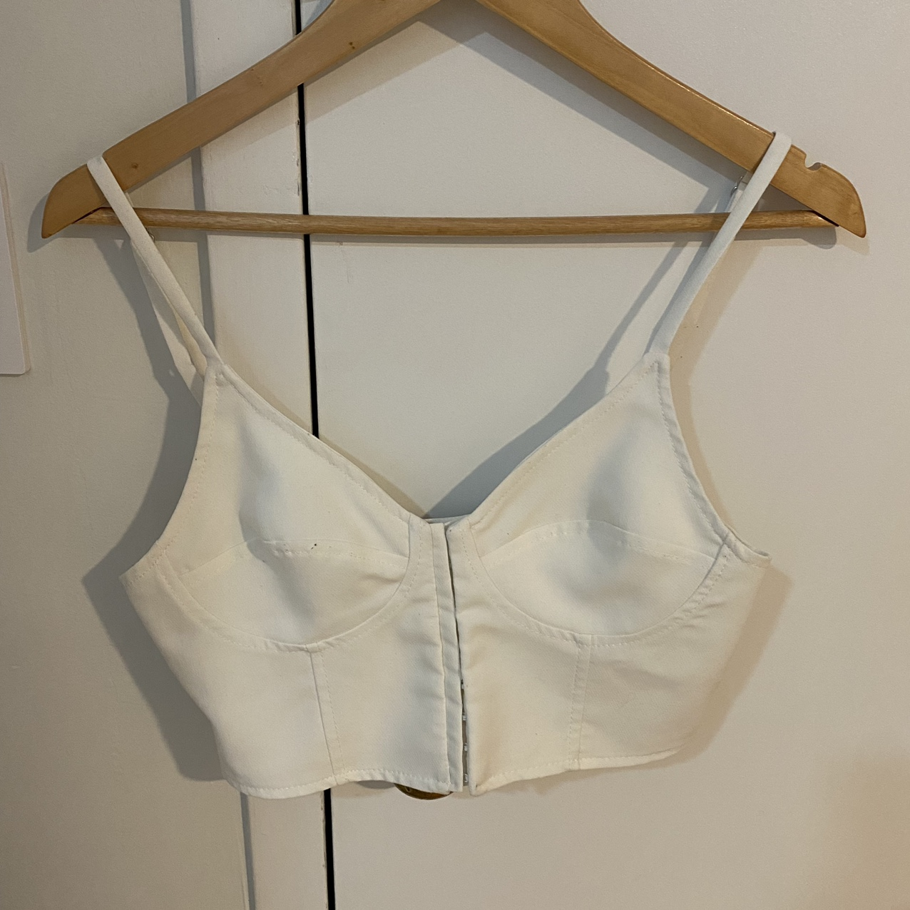 Product Image 1 - Zara white cropped corset top