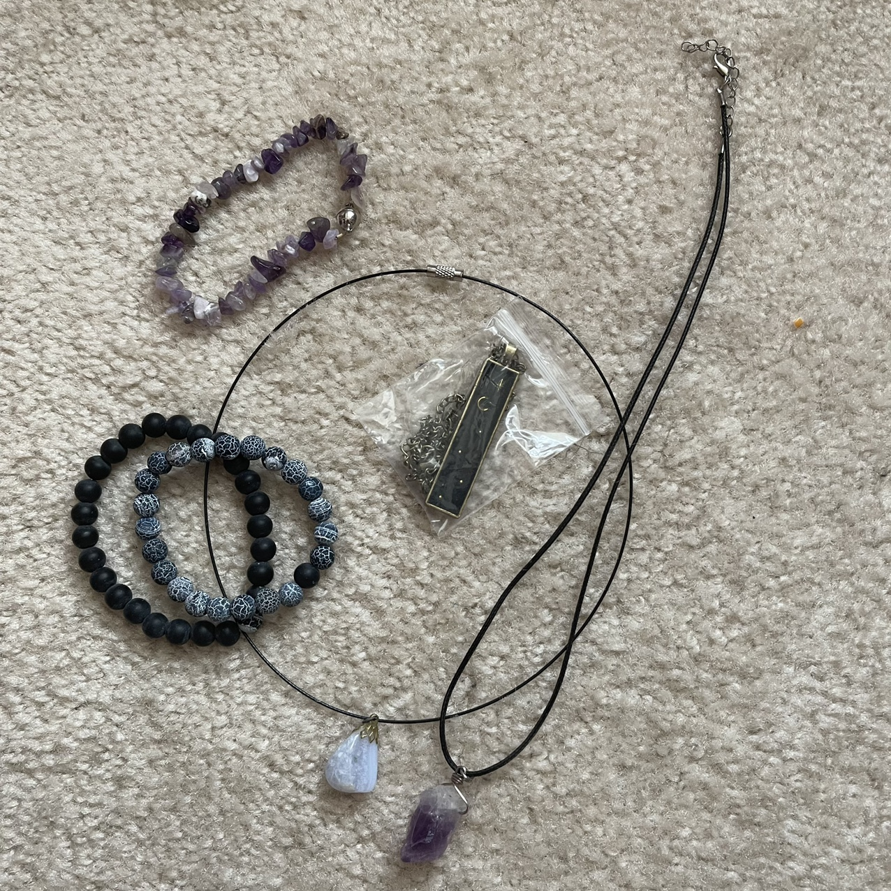 Product Image 1 - Witchy artisan Jewelry Lot  Includes crystal