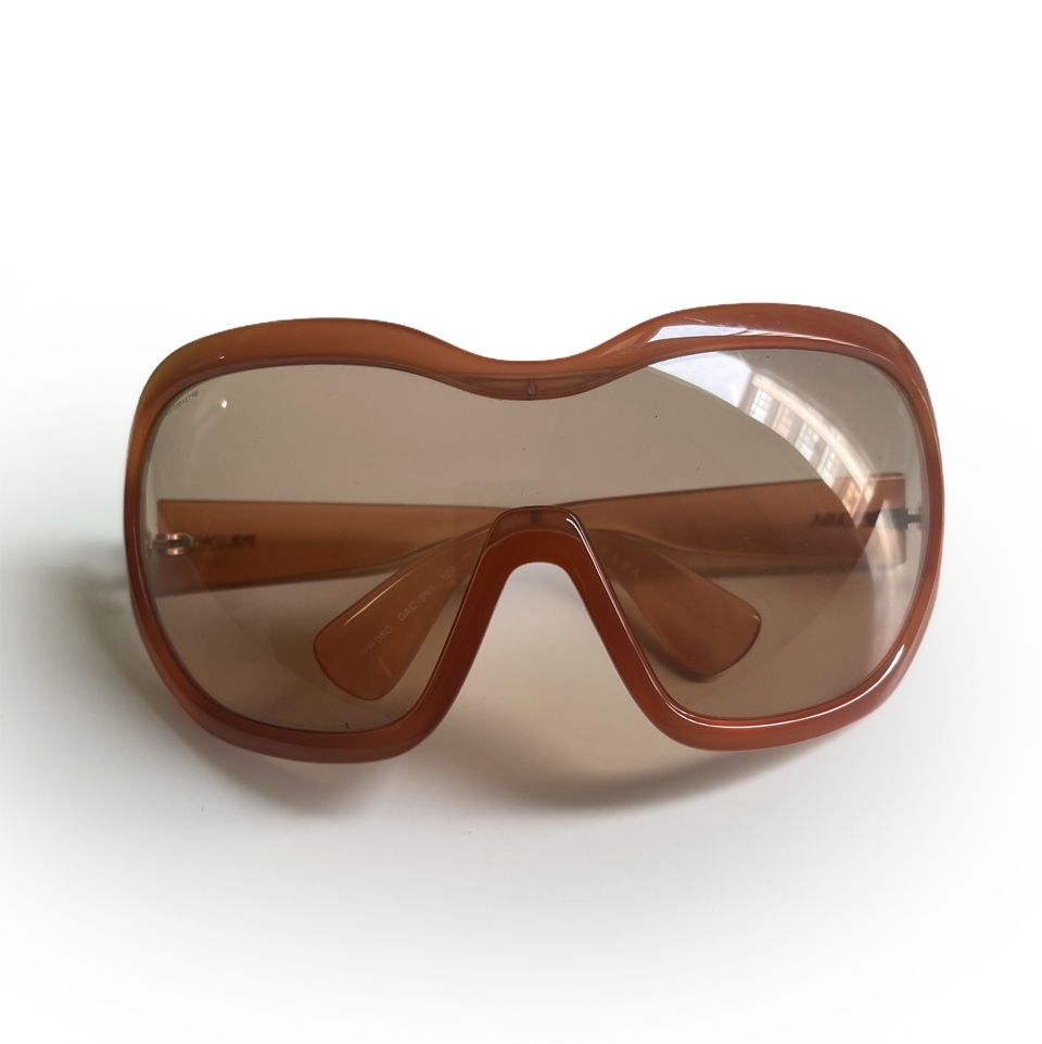 Product Image 1 - Prada Archive Brown Oversized Shield