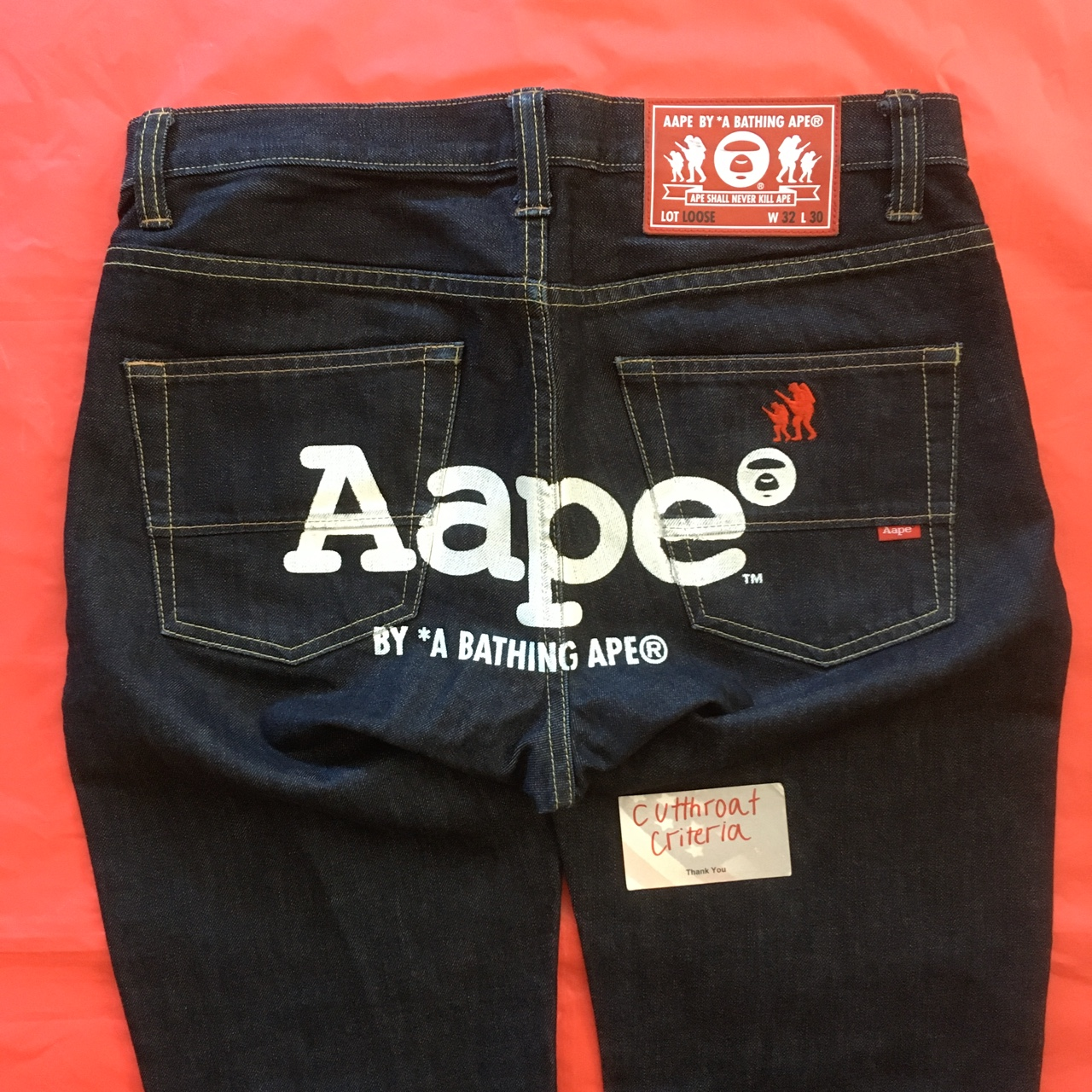 """Product Image 1 - Loose fit """"Aape BY *A"""