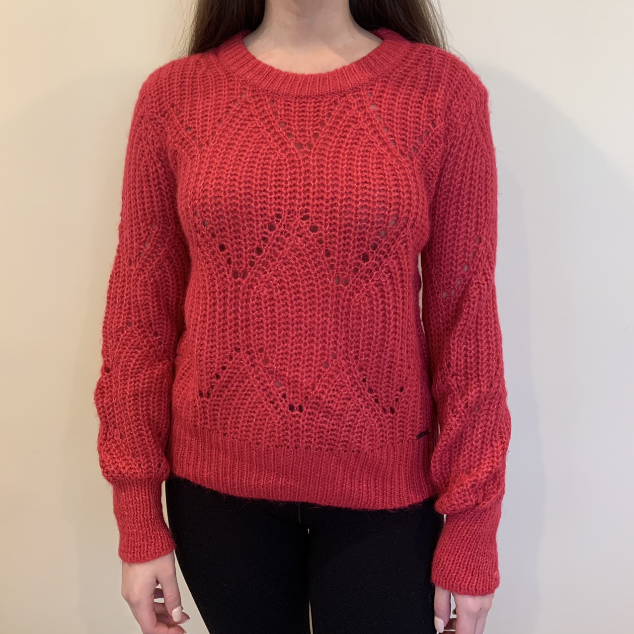 Product Image 1 - Abercrombie and Fitch red sweater.