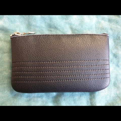 52fd1227634 Vegan leather wallet / coin purse from vegan wares This is - Depop