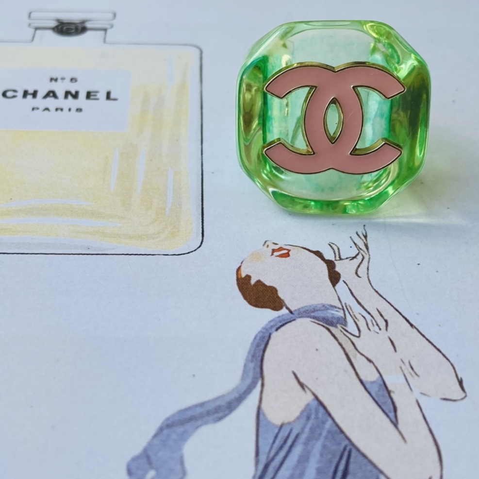 Product Image 1 - Repurposed Chanel button ring. Made