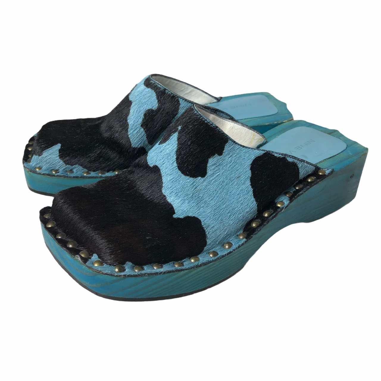 Product Image 1 - RARE Nine West Cow Wooden