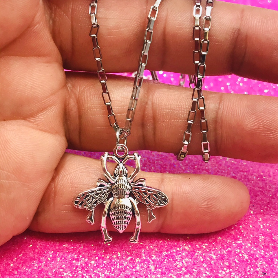 Product Image 1 - 💖Super Cute Necklace 💖 Bee 🐝