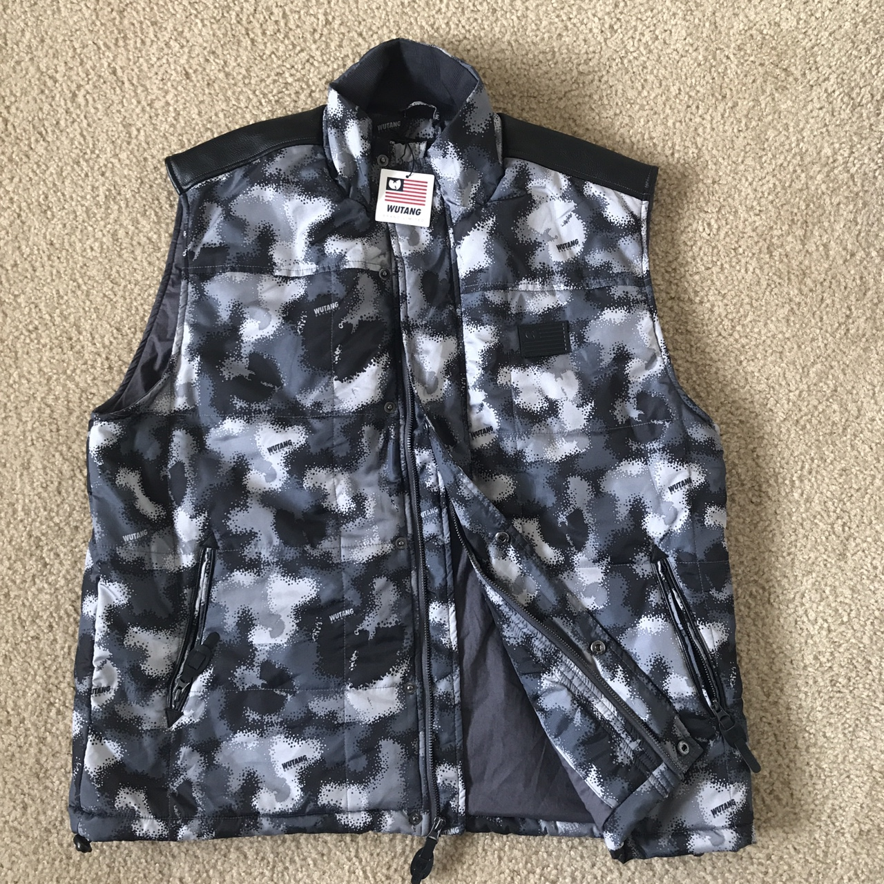 Product Image 1 - This rare camouflage Wu Tang