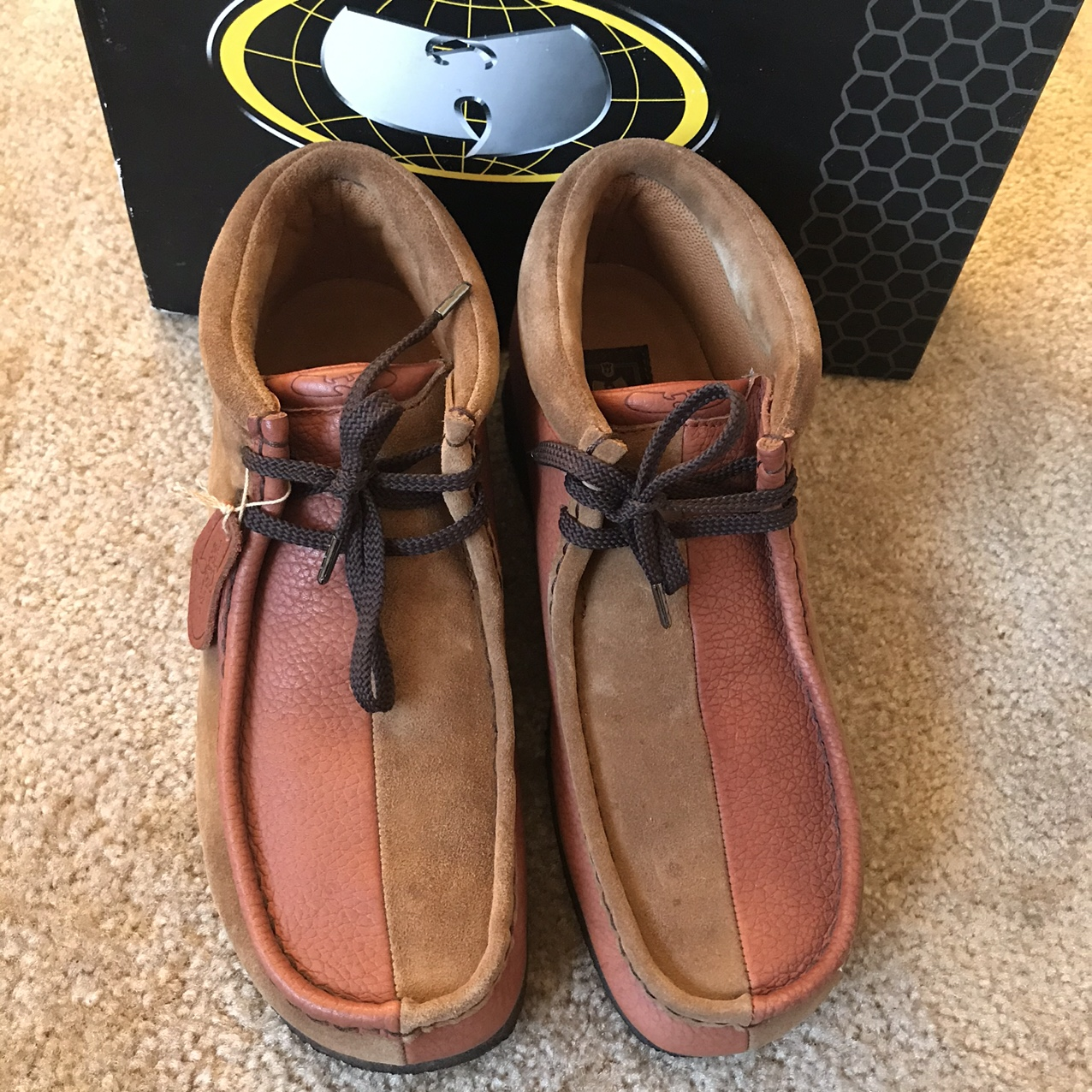 Product Image 1 - Extremely rare 90's Wu-Wear Wallabees