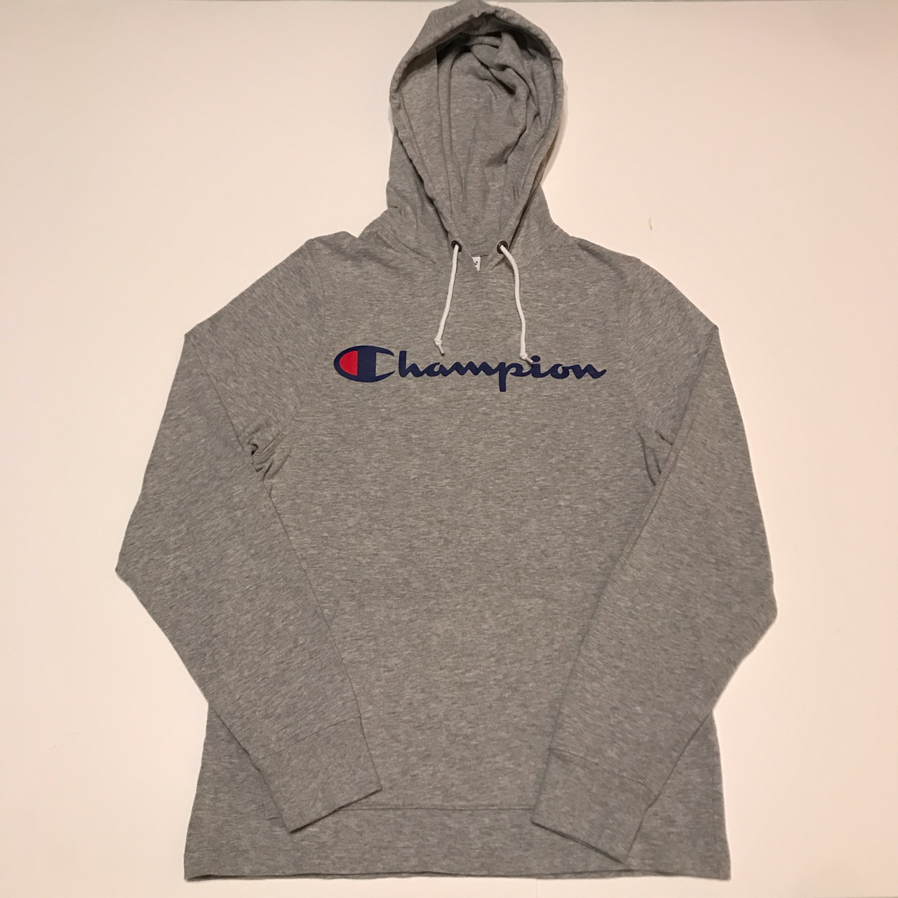 Product Image 1 - CLASSIC CHAMPION SPELLOUT PULLOVER HOODIE