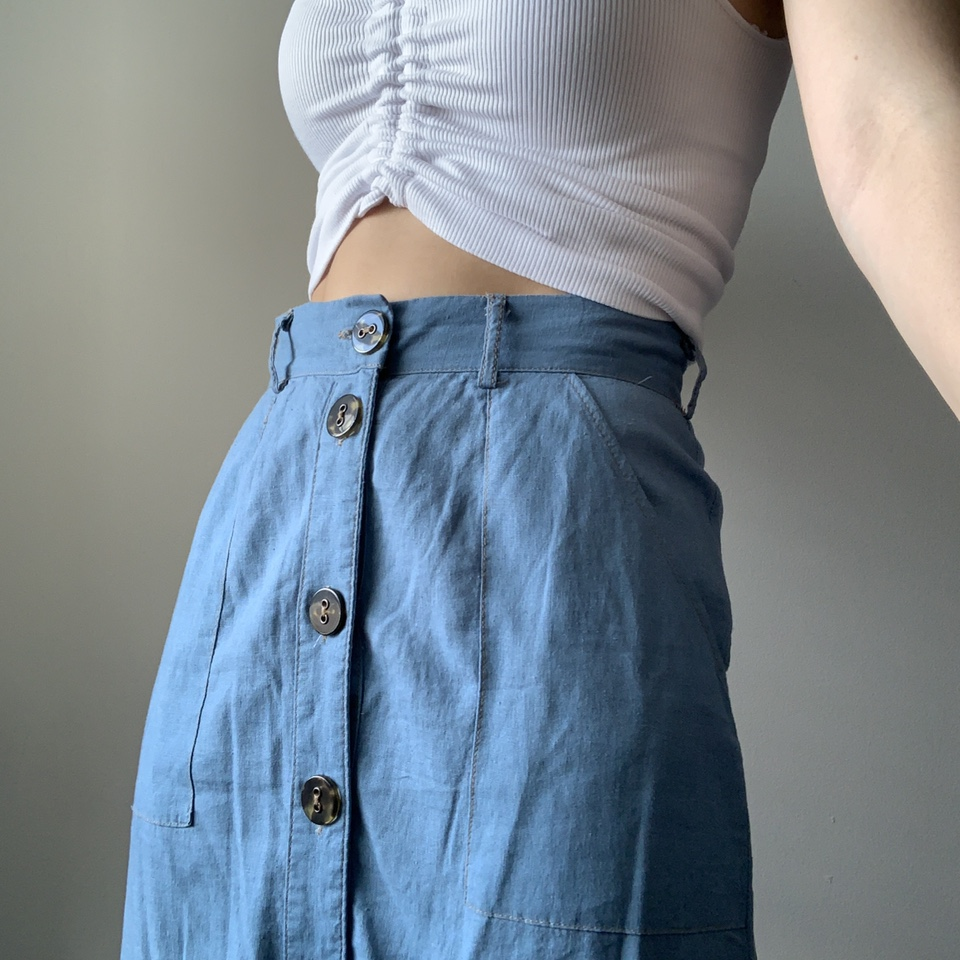 Product Image 1 - Urban Outfitters Midi Skirt   light