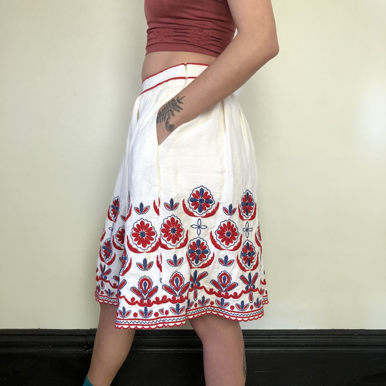Product Image 1 - ✅FREE SHIPPING✅ J Crew linen skirt
