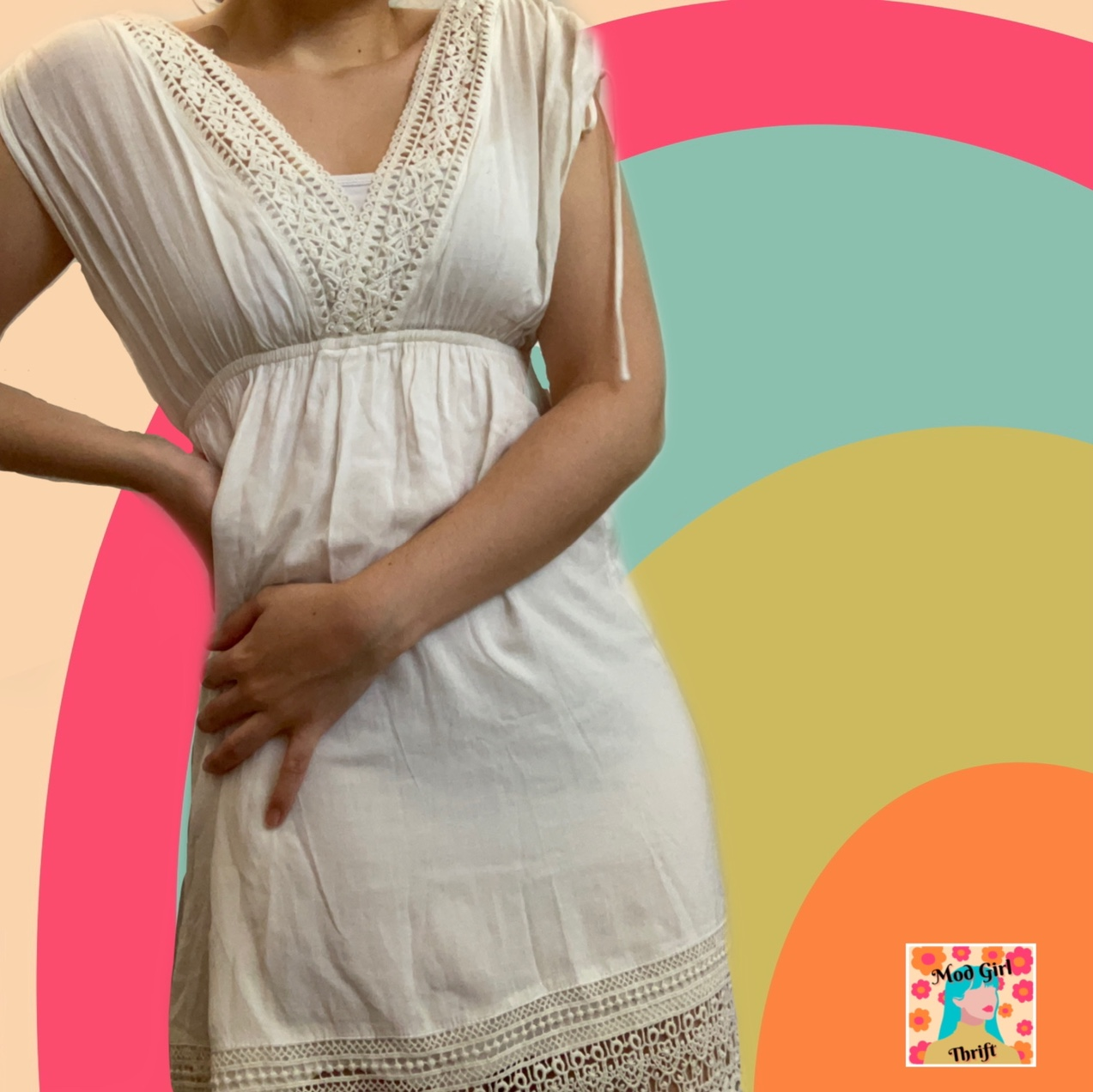 Product Image 1 - Romantic beach date cover up.
