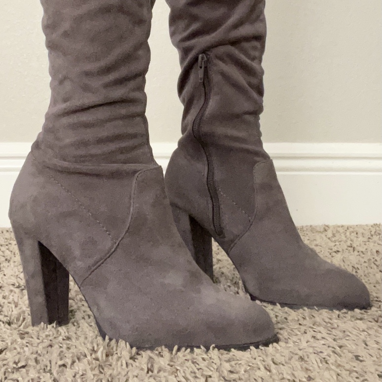 Product Image 1 - These are gray thigh high