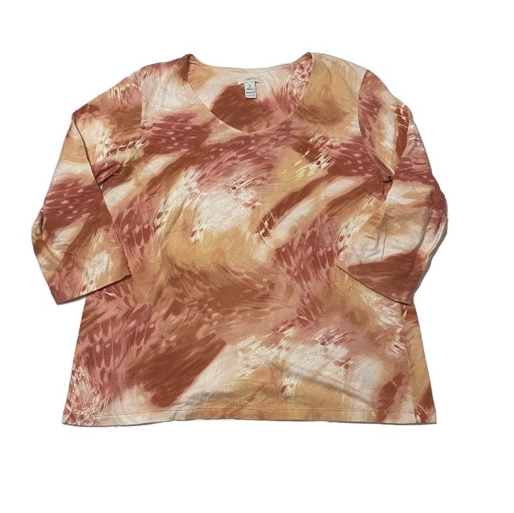 Product Image 1 - Chico's Orange Multicolored Blouse  Very