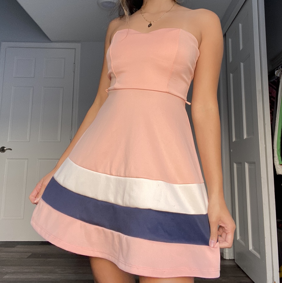 Product Image 1 - peach cocktail dress<3 fits a