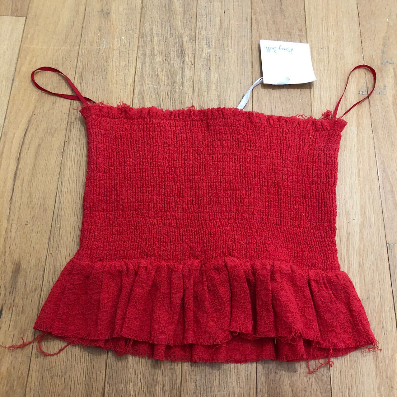 Product Image 1 - Smocked Tube Crop Top Cute Bright