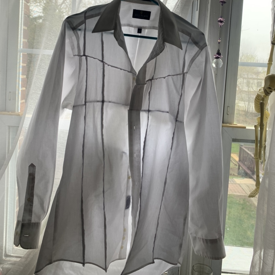 Product Image 1 - OVERLOCKED REWORKED BUTTON UP  #overlocked #reworked