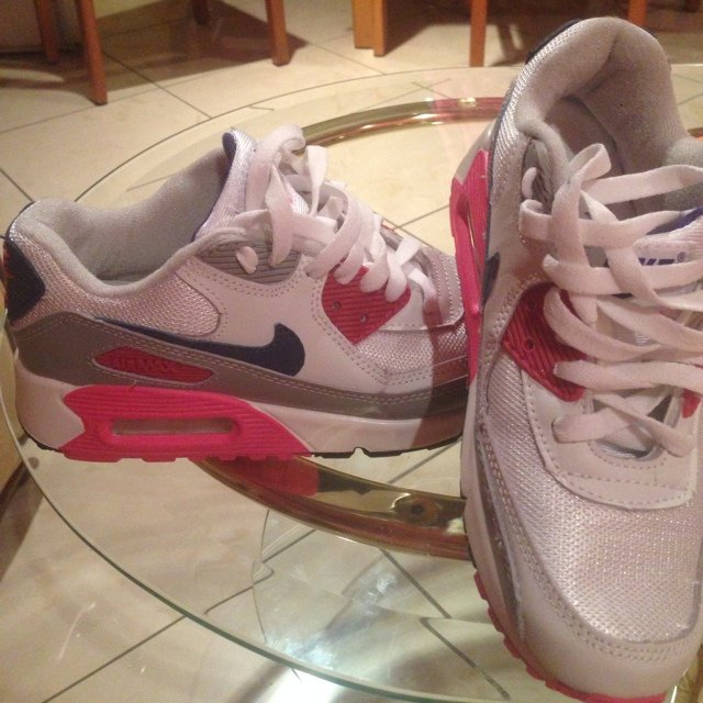 Air Max 90 Bianche Indossate