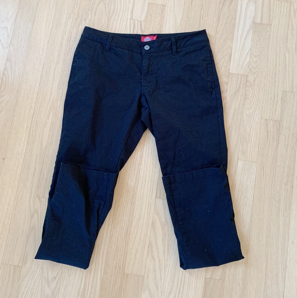 Product Image 1 - Low-waisted Black Dickies Pants  Very