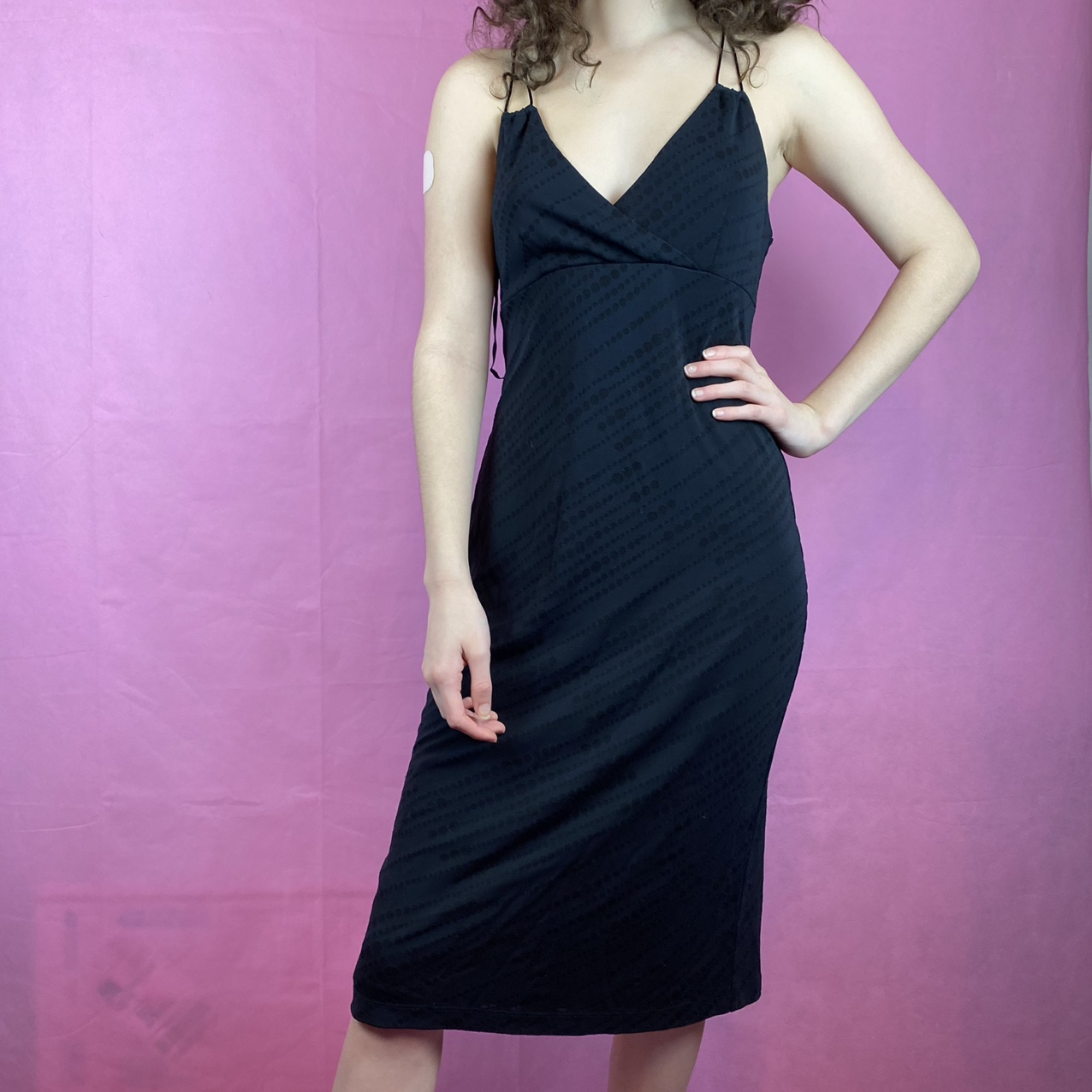 Product Image 1 - Vintage 90s Express Black Dress🖤 Features