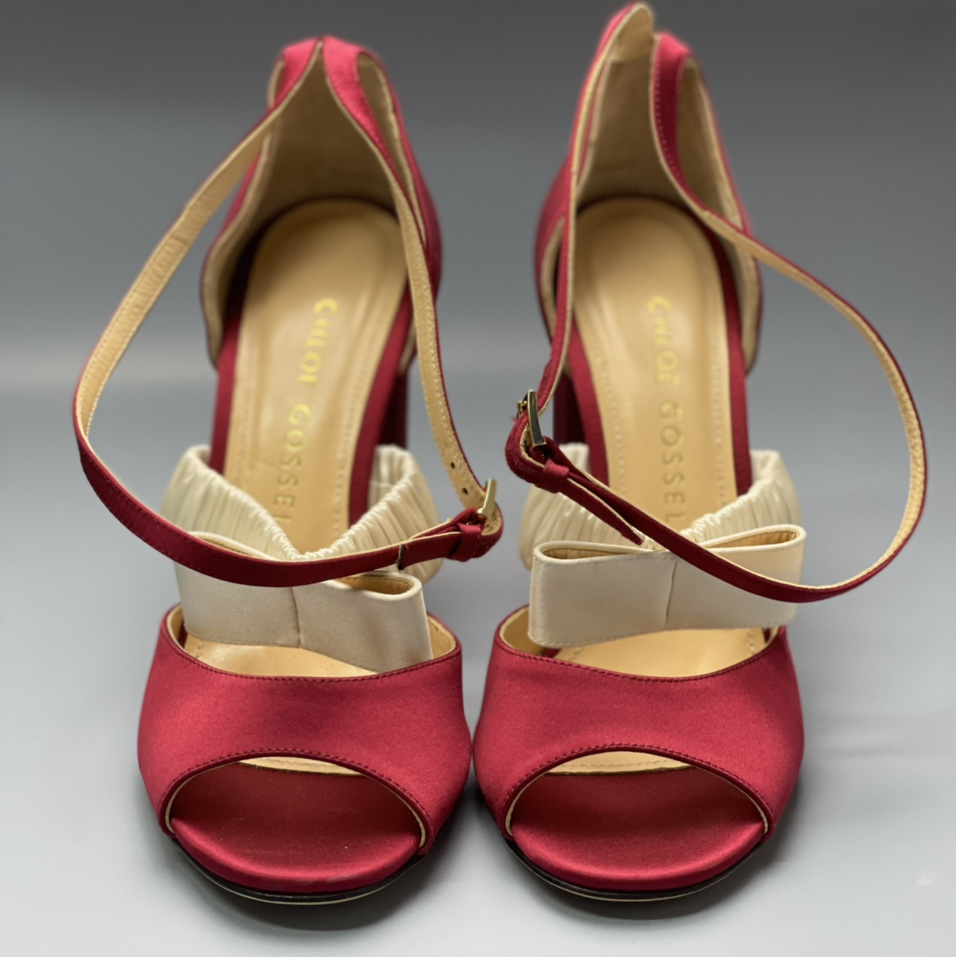 Product Image 1 - Chloe Gosselin red heels with