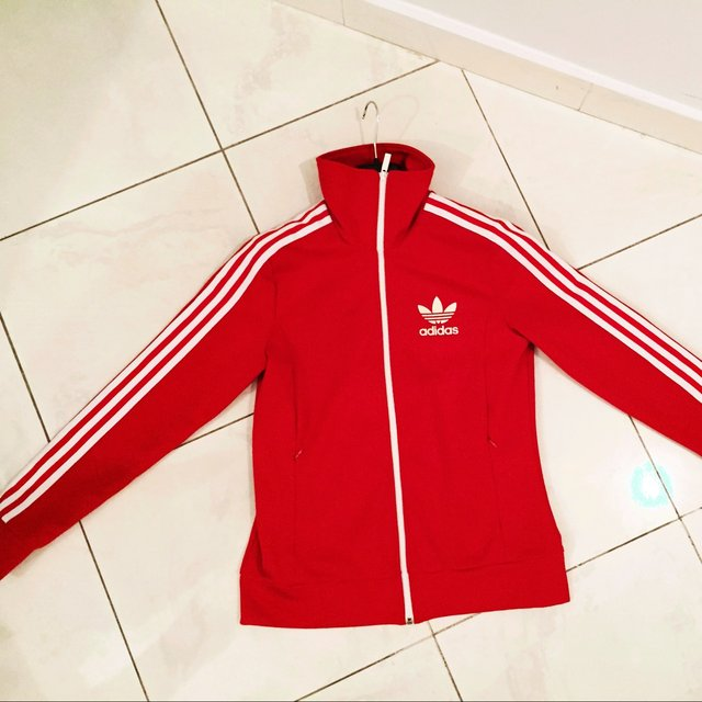 adidas rosse con strisce bianche