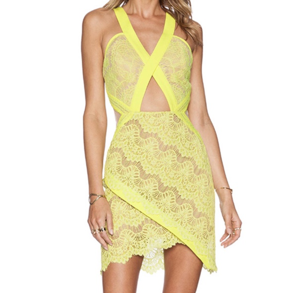 Product Image 1 - Neon yellow lace with nude