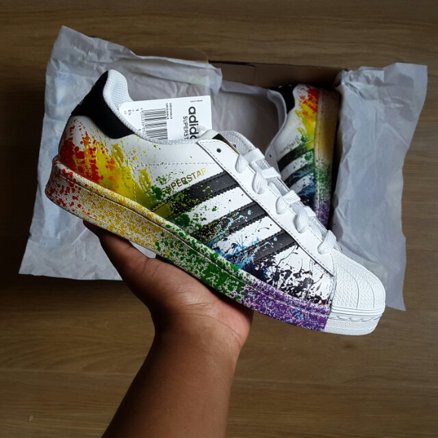 adidads pride pack heren wit