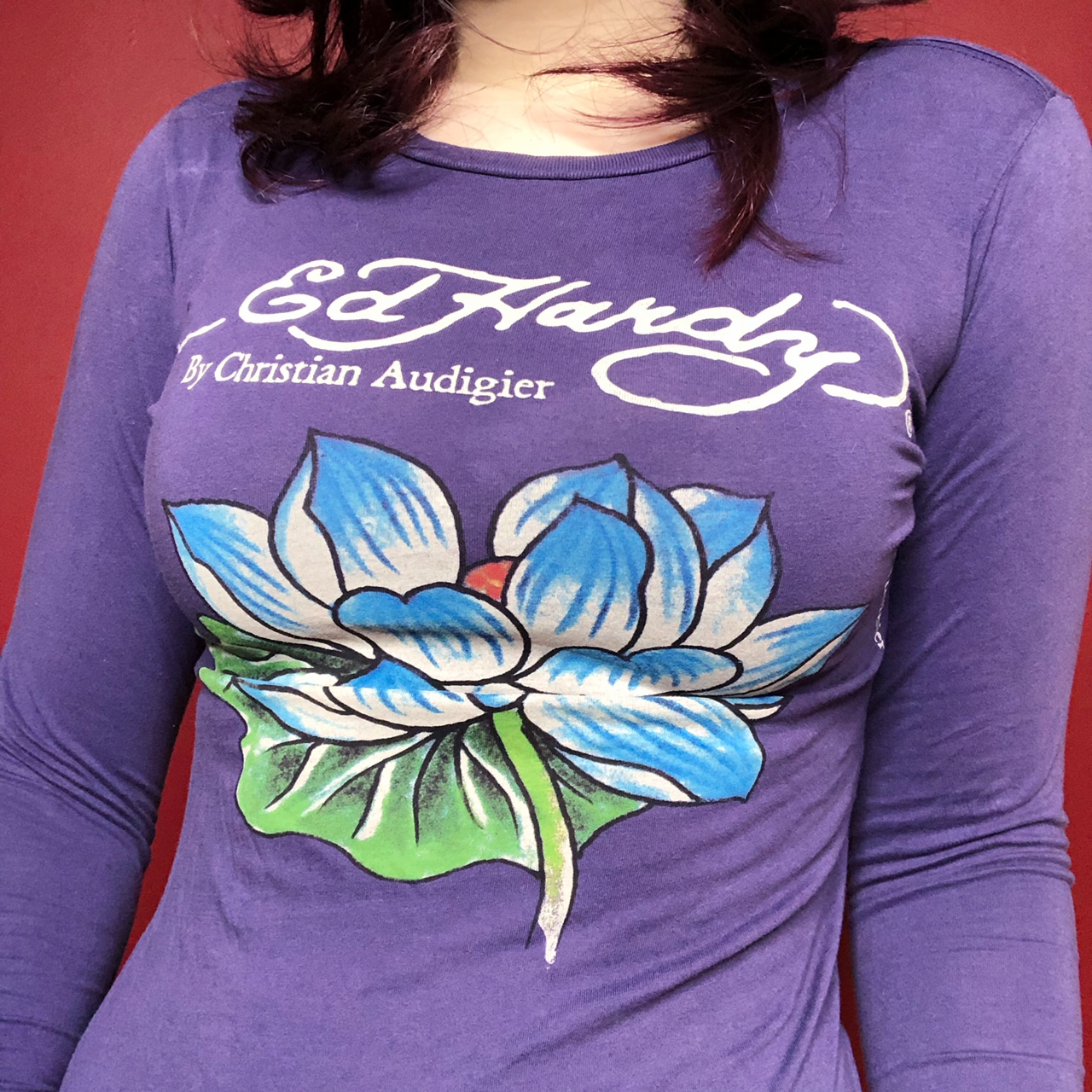 Product Image 1 - Y2k Ed Hardy top 🖤