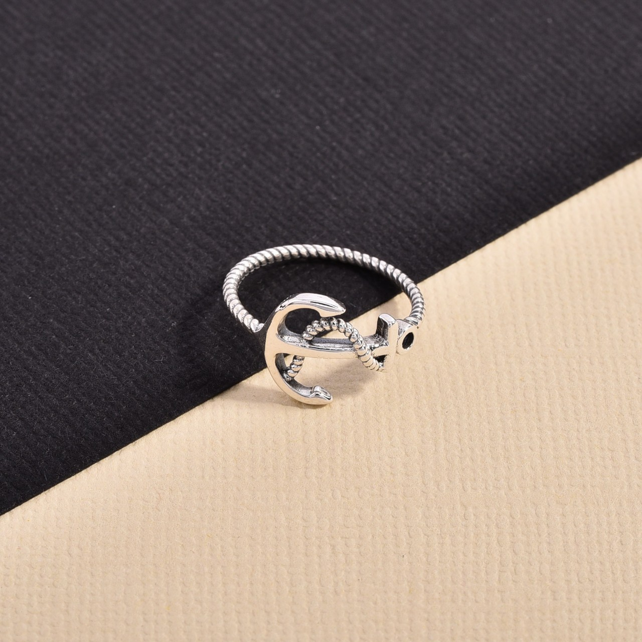 Product Image 1 - Sterling 925 Anchor Ring  Hand made