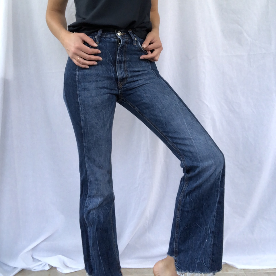 Product Image 1 - Zara high waisted flare jeans