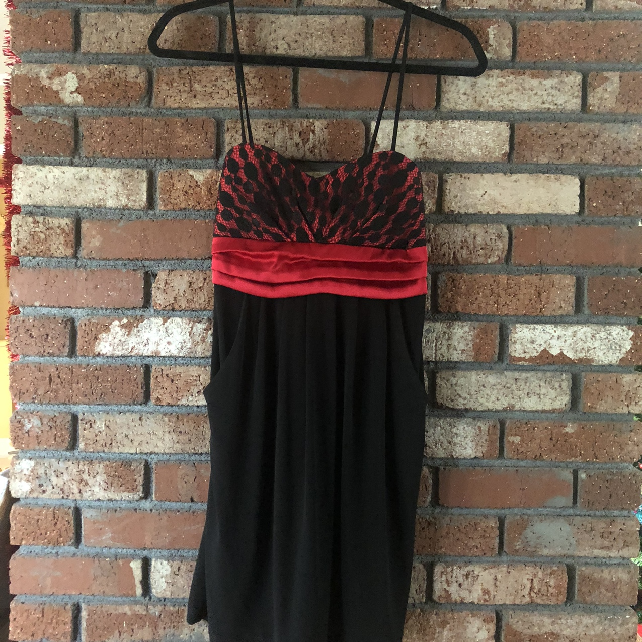 Product Image 1 - 90s aesthetic red and black