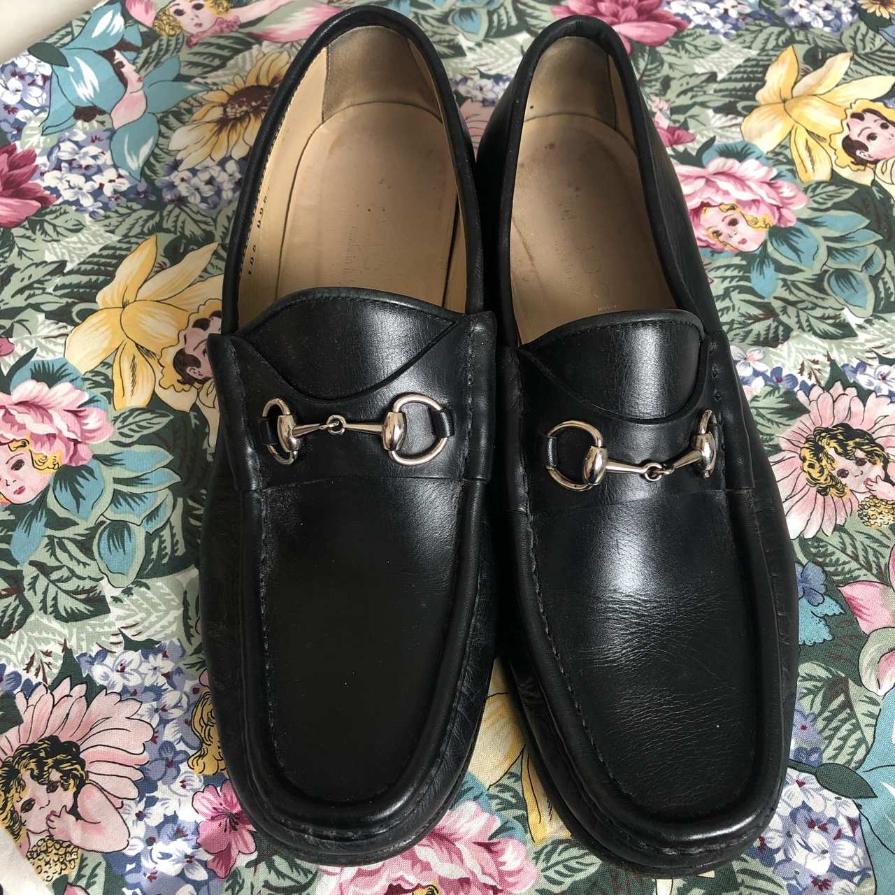Product Image 1 - Vintage Black Leather Gucci Loafers