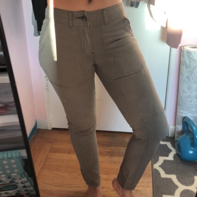 Product Image 1 - free people green jeans  cargo