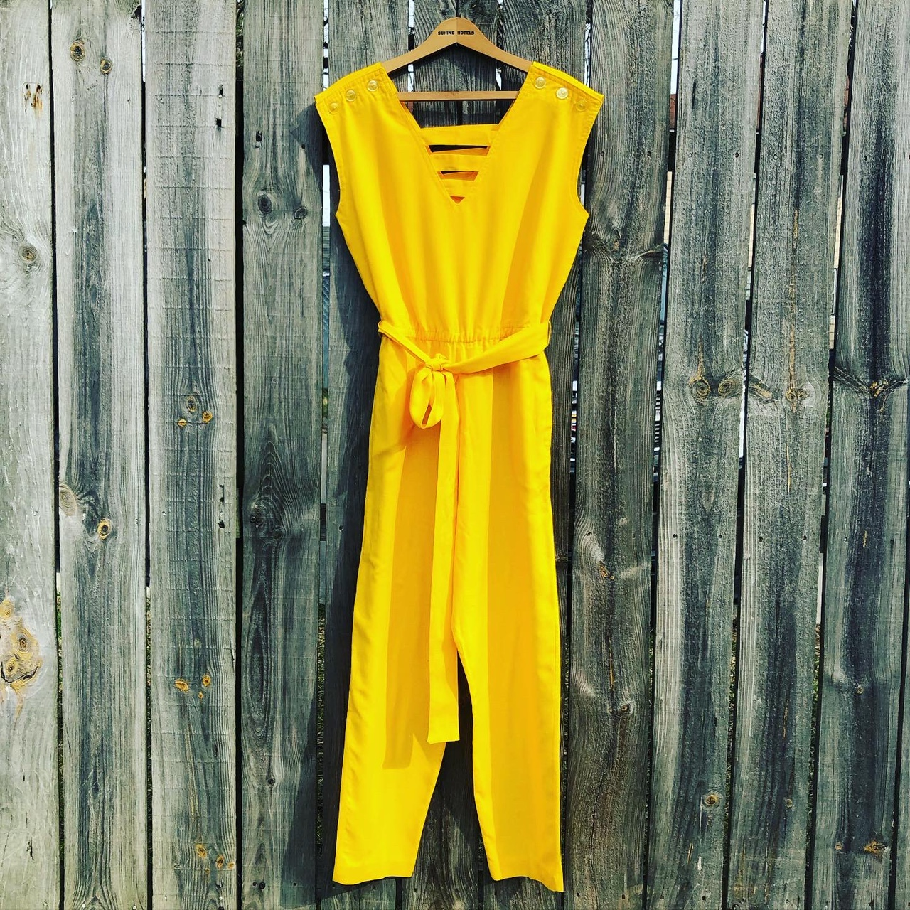 Product Image 1 - Vintage and handmade linen/cotton yellow