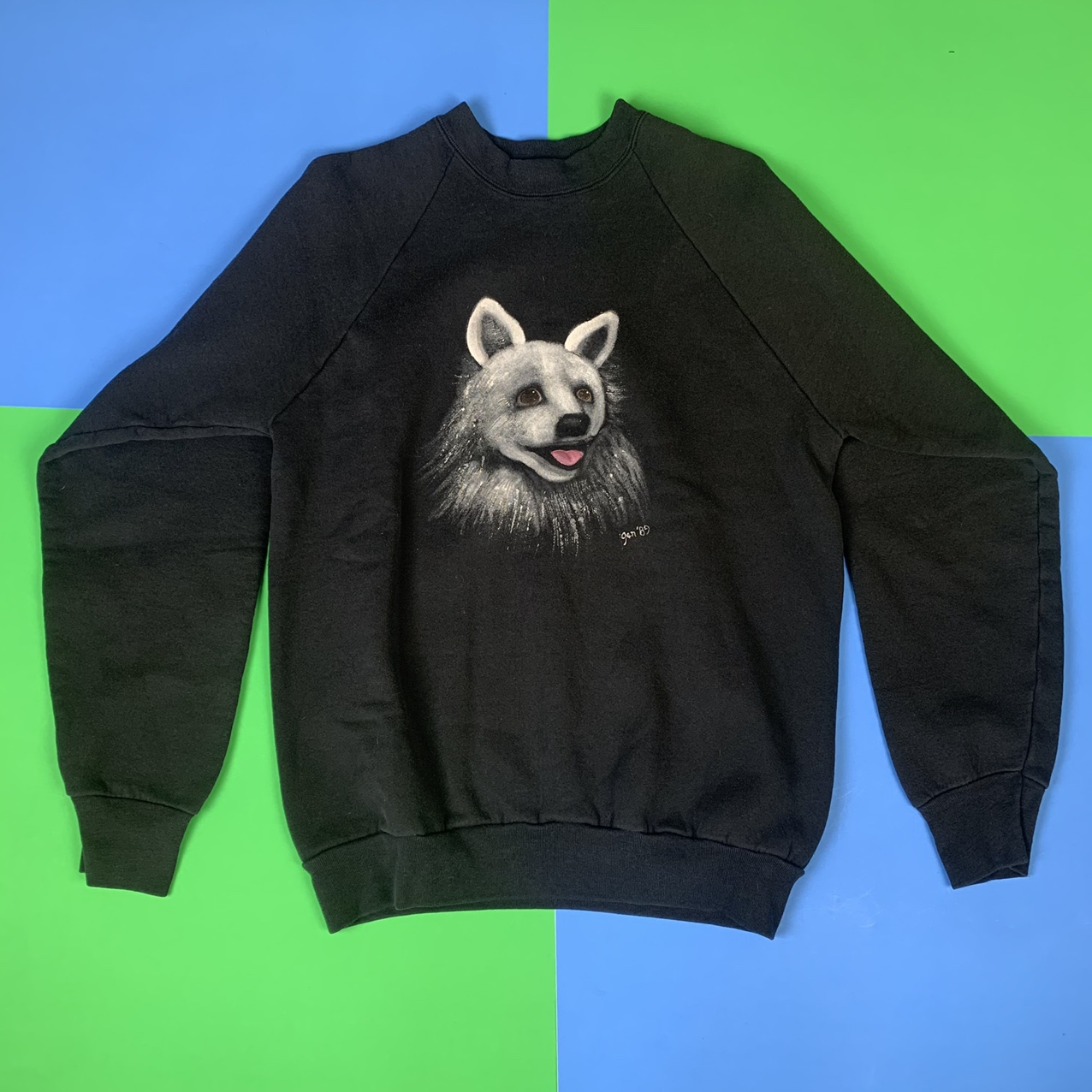 Product Image 1 - Vintage 1989 handpainted animal graphic