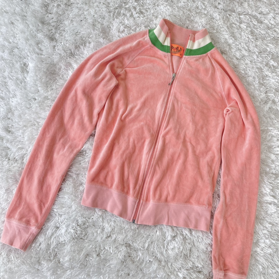 Product Image 1 - Juicy Couture peach velour jacket