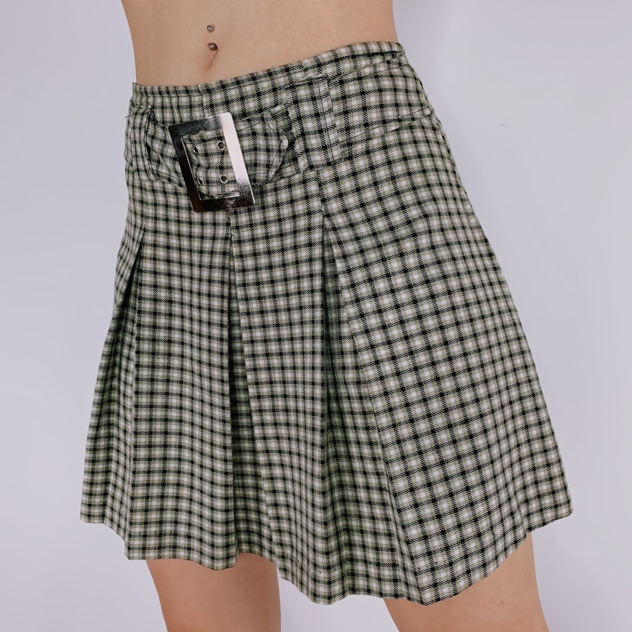 Product Image 1 - 1990s Plaid Mini Skirt by
