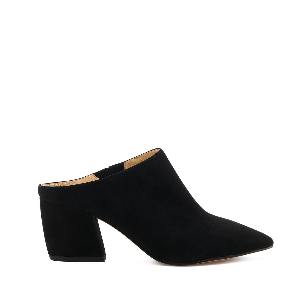 Product Image 1 - Botkier Shanna Mules Size 6 Suede, leather Black