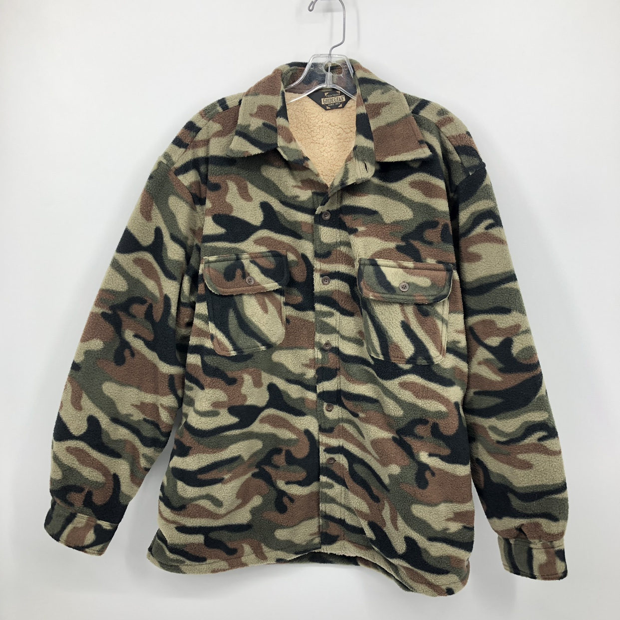 Product Image 1 - Vintage Camo Jacket Sherpa Lined