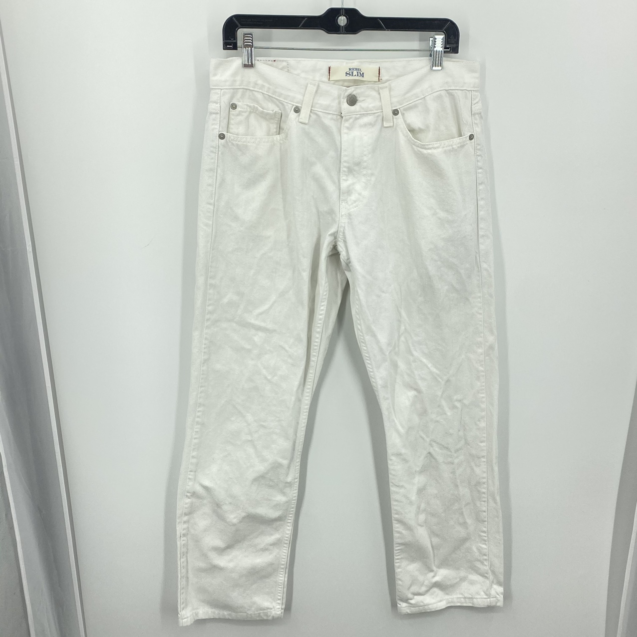 Product Image 1 - Tommy Hilfiger White Jeans Rebel