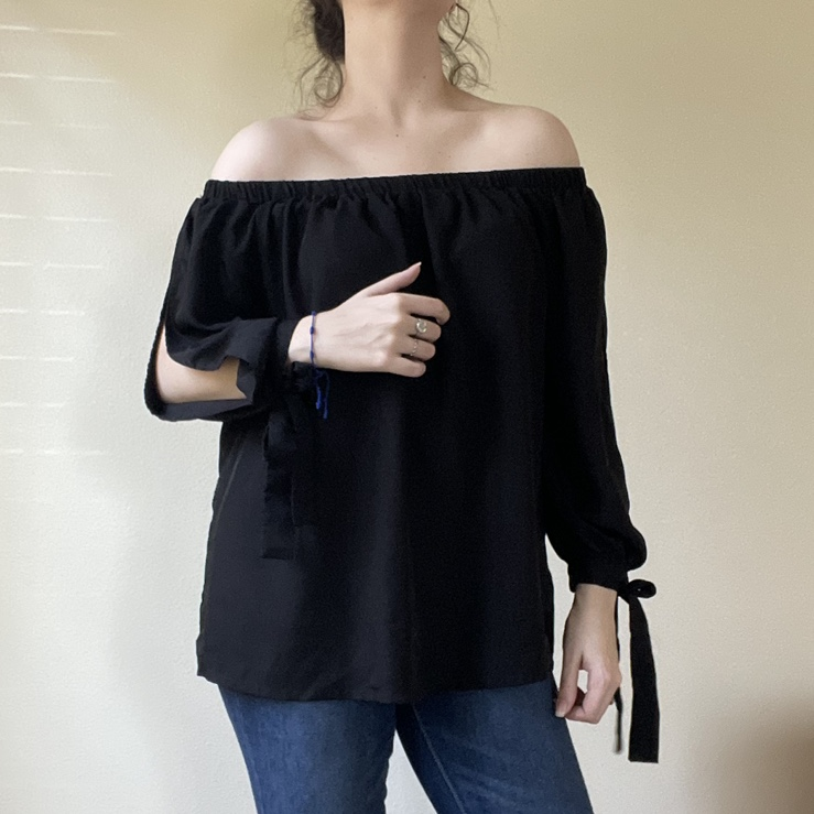 Product Image 1 - ♟off the shoulder ribbon blouse♟  Size: