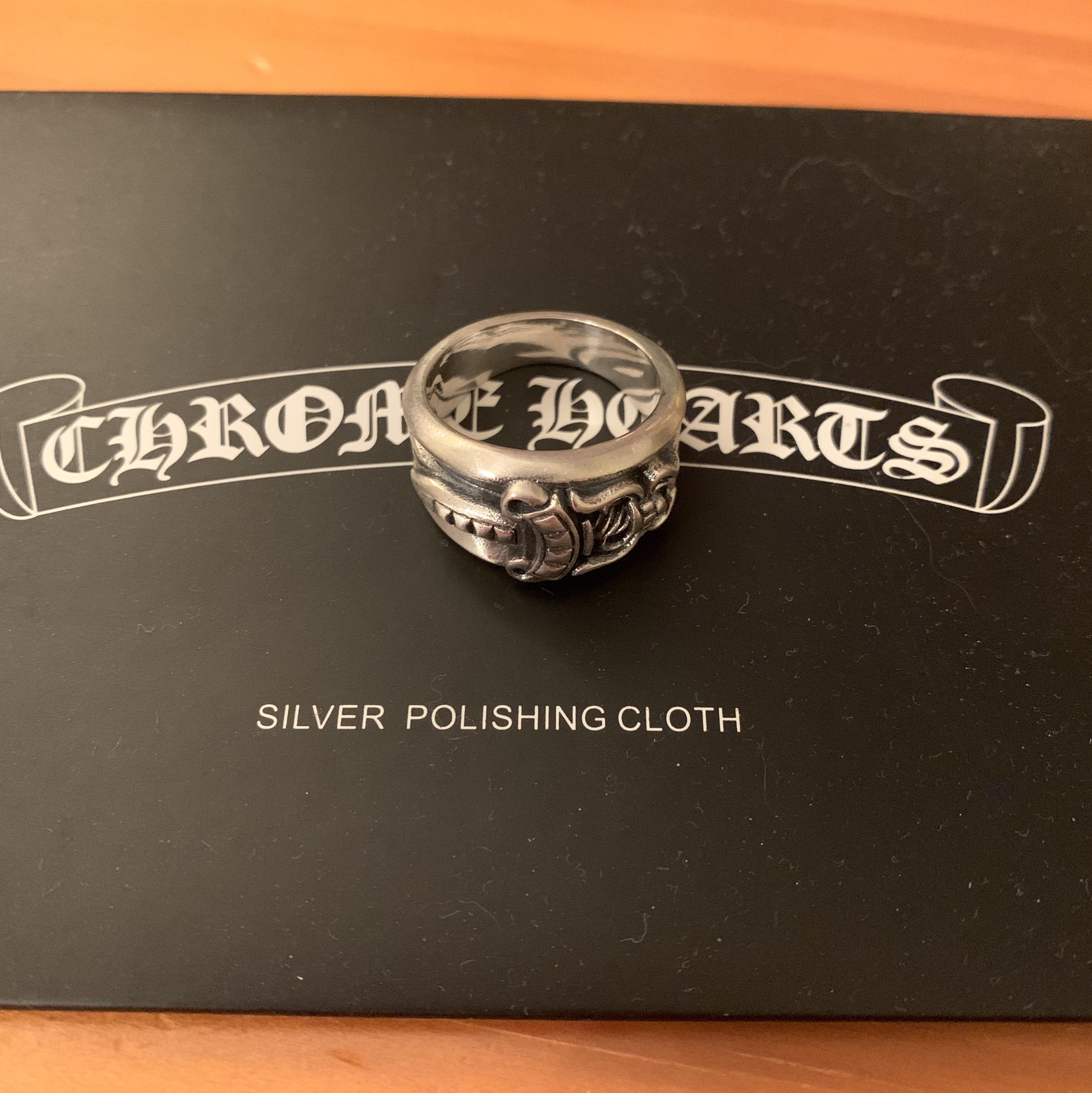 Product Image 1 - Chrome Hearts Dagger Ring. Comes