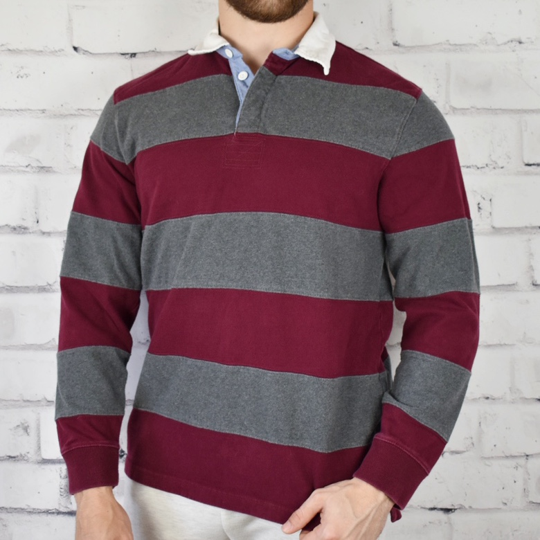 Product Image 1 - Club Room Maroon and Gray
